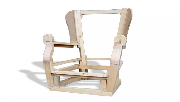 Stelaż tapicerski fotela 10