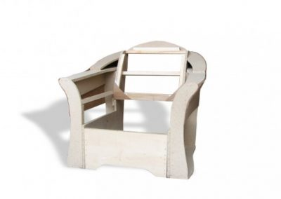 Stelaż tapicerski fotela 09