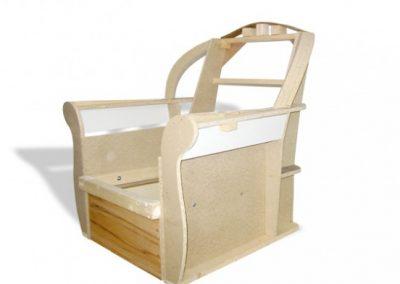 Stelaż tapicerski fotela 03