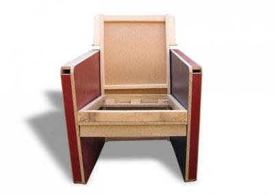 Stelaż tapicerski fotela 06
