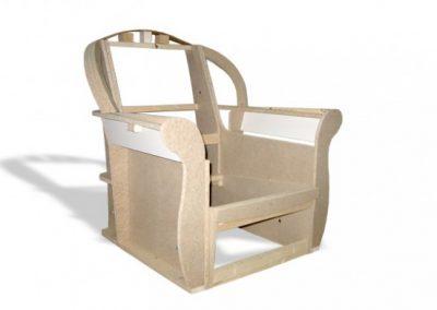 Stelaż tapicerski fotela 07
