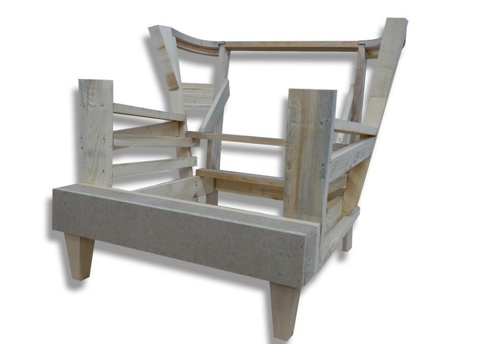 Stelaż tapicerski fotela 11